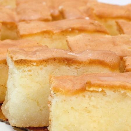 Canelos artesanales de Pastelería Galicia