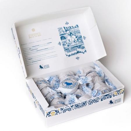 Caja de polvorones El Toro de Dulces Galicia