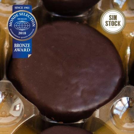 Toritos de chocolate sin stock al detalle de confitería Galicia. Pastas premiadas por Monde Selection