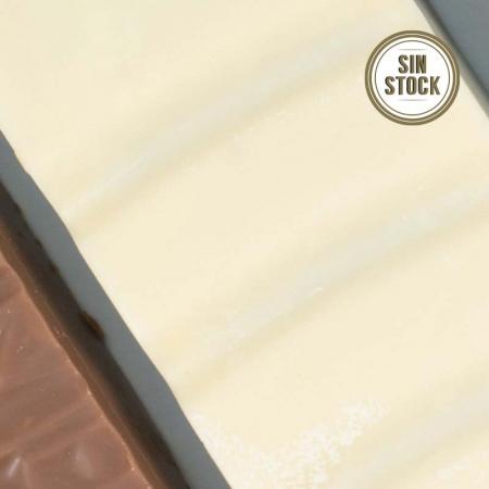 Detalle de turrón praliné blanco artesanal para comprar online sin stock