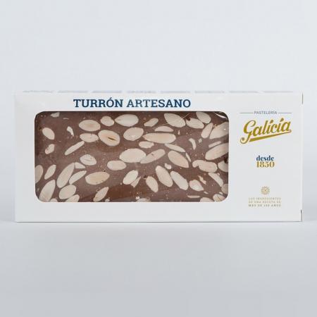 Turrón artesano de chocolate con almendras para comprar online