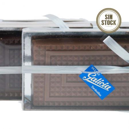 Turrón praliné de chocolate con leche artesanal para comprar online sin stock
