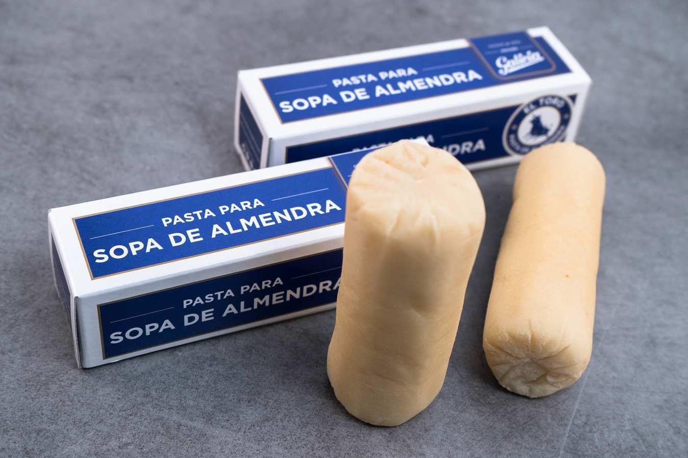 Pasta de almendras artesanal. Producto de pastelería en Tordesillas