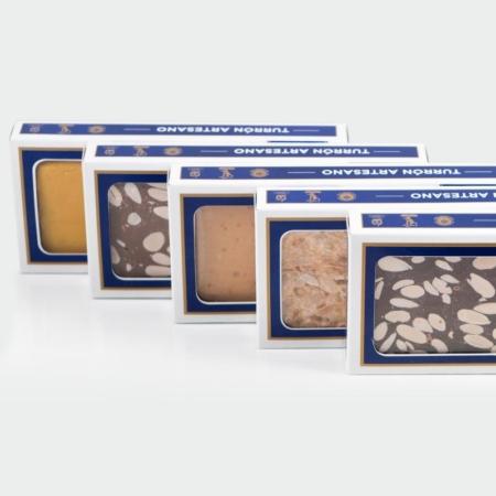 Comprar turrones artesanales variados en la tienda online de Dulces Galicia