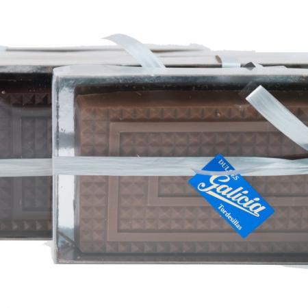 Turrón praliné de chocolate con leche artesanal para comprar online